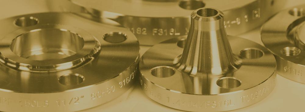 Brides de cuivre-nickel