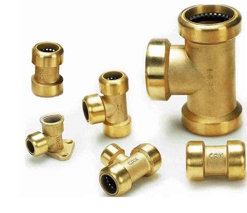Raccords de tuyaux en cuivre et Raccords de tubes