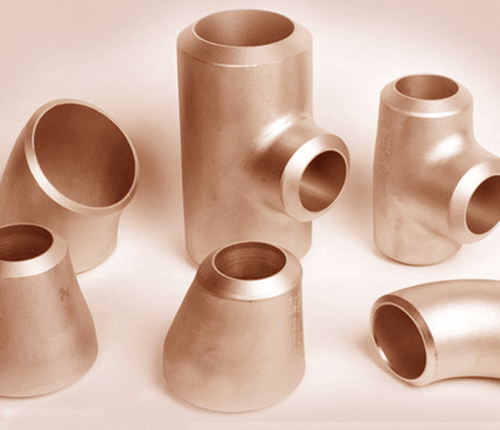 Cuivre Nickel 70-30 Astm B446 Uns C71500 Soudure bout à bout Raccord de tuyaux et raccord de tube