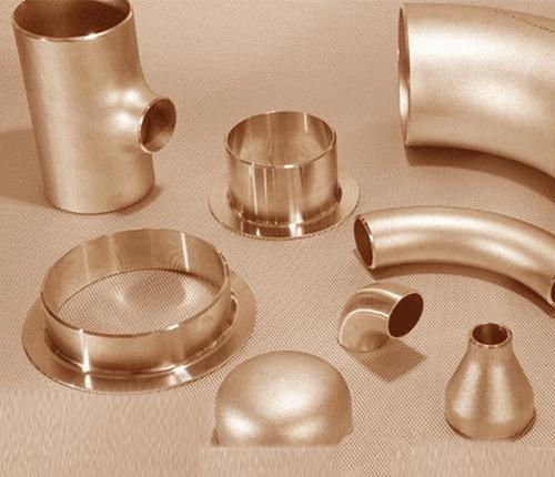Cuivre Nickel 90-10 Soudure bout à bout Raccord de tuyaux et raccord de tube